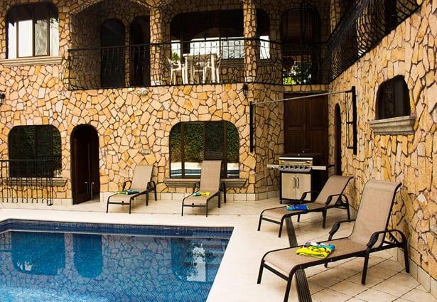Jaco Beach Castle pool